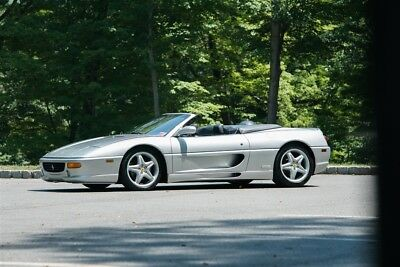 Ferrari 355 Spider 1998 Ferrari F355 Spider Manual, Major Service history