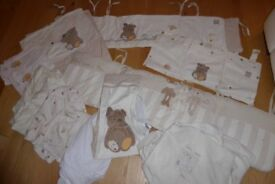 Cot Bed size bedding sets x 2 Mamas and Papas and Mothercare