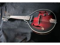 Must go! Beautiful, barely used Mandolin Stagg M50E Electro-Acoustic Nato Top