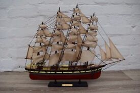 Model Of The Wendur Sailing Ship (DELIVERY AVAILABLE)