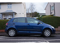 VOLKSWAGEN GOLF Plus SE VW, Low milage. Similar c-max,zafira. Swap / px 4 diesel estate or 4x4