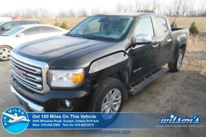 2017 GMC Canyon 4WD SLT CREW CAB | NAVIGATION | LEATHER | REMOTE