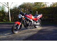 Suzuki GS 500 E 1996 N Reg in RED