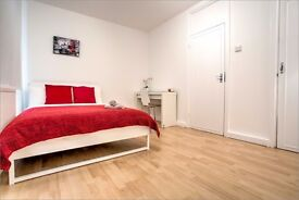 Book now to view this spacious double room in a fully refurbished 3-bed flat in Borough!