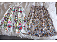 S/M size skirts (NEW)