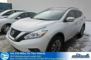 2016 Nissan Murano SV NAVIGATION! SUNROOF! BLUETOOTH! REVERSE CA