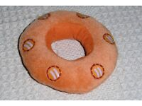 NEW Plush Ring Donut Shaped Dog Toy, 5 inches diameter, Histon