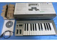 Acorn Masterkey 25 Key usb Midi Keyboard controller