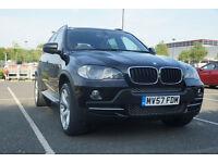 BMW X5 E70 Black 3.0d Stunning condition Low mileage FSH