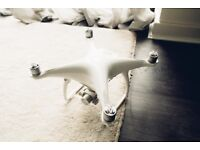 DJI Phantom 4 Drone (Very Good Condition)