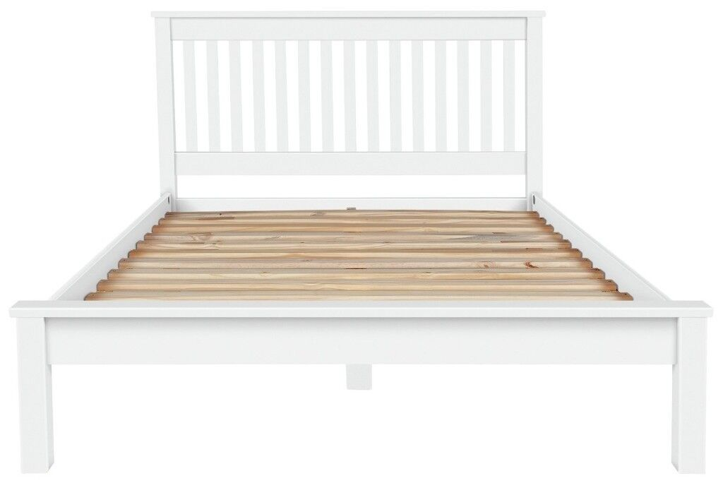 EX DISPLAY Argos Home Aspley Kingsize Bed Frame - White | in ...