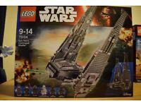 Lego set 75104 Kylo Ren's Shuttle.