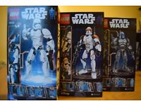 Lego 3 figures from Star Wars 75107, 75108 and 75114