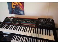 Roland JX 3P synthesizer + Dtronics DT200 programmer