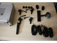 AKG - PRO FULL DRUM MICROPHONE SET - 8 x Mic's