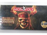 Pirates of the Caribbean - Collectible games: Monopoly, Draughts and Chess