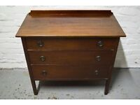 Mahogany chest of drawers (DELIVERY AVAILABLE)