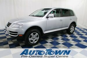 2007 Volkswagen Touareg V6 HID/HTD SEATS/LEATHER/PWR SUNROOF