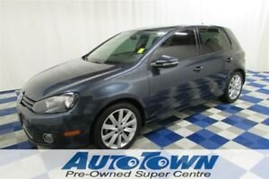 2012 Volkswagen Golf 2.5L Highline/ONE OWNER/SUNROOF/LEATHER