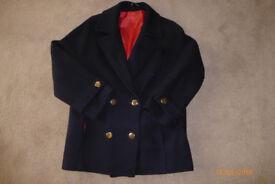 Ladies Navy Blue Jacket - size 12