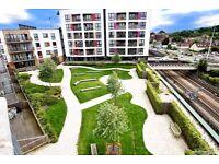 Harrow -Luxury 2 bed 2 bath modern apartment, 6th floor-luxury kitchen-underground parking Furnished