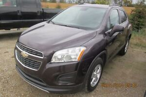 2015 Chevrolet Trax LT AWD! BLUETOOTH! CRUISE CONTROL! TOUCH SCR