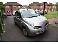 Nissan Micra family car for sale.