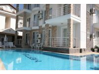 Relaxing family, modern Ground Floor Apart a few metres from Calis beach in Fethiye, Turkey