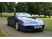 Porsche Boxster 2.7 with full bodykit, Wheel spacers, Private plate, Real Headturner