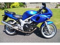 Suzuki SV650 Motorbike
