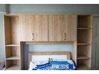 Over-bed storage unit