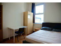 Good size double bedroom in Hackney, Homerton. Available now. 2 weeks deposit only.