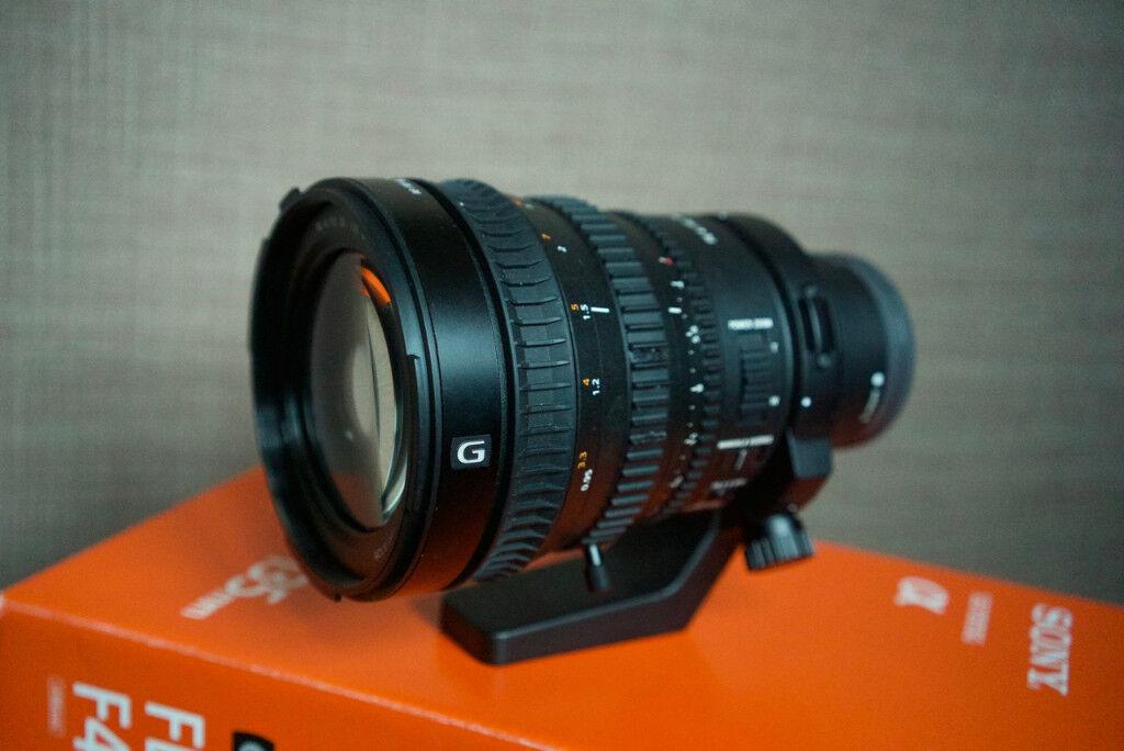 Sony Full Frame FE PZ 28-135mm F4 G OSS Lens