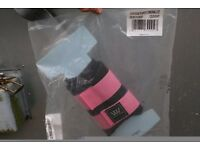 """Woof Wear Tempest Orginal Lite Club Brushing Boots - 48""""/ 4'0/ 95cm in Navy & Pink"""