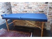 Lightweight Portable Massage Couch Collection only BS25 1AT
