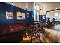 Full Time Bar Supervisor, 1815 bar and café / The Cambridge Union