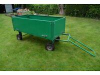 Garden trolley, cart, trailer of commercial grade