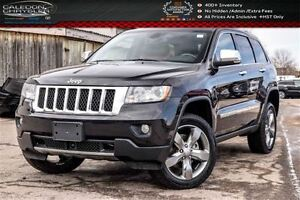 2012 Jeep Grand Cherokee Overland|4x4|Navi|DVD|Pano Sunroof|Back