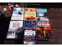 JOB LOT WORLD WAR BOOKS