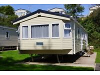 ABI Delta 2016 mobile holiday home in Looe bay holiday park