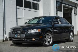 2007 Audi A4 2.0T 6 Speed Manual! No Accidents!