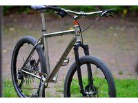 Cotic Soda Frame Ultimate Titanium Custom Built MTB Bike