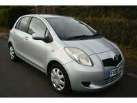 TOYOTA YARIS 1.3 VVTI T3 5DR **1 LADY OWNER** FULL TOYOTA HISTORY - 10 STAMPS**