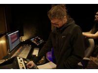 Freelance Sound Engineer (With Studio)