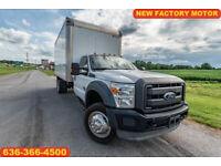 2014 Ford F550 xl Used box 6.7 powerstroke diesel new engine warranty cargo