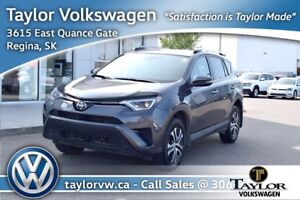 2017 Toyota RAV4 AWD LE Great Condition including Back up Camera