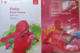 Violin grade 1 books & CD