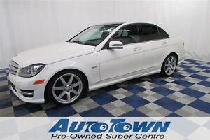 2012 Mercedes-Benz C-Class C350 4MATIC NAV/PUSH START/RV CAM/ AM