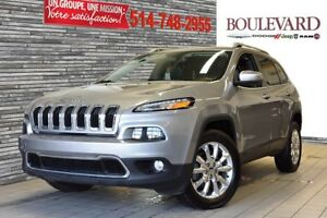 2015 Jeep Cherokee LIMITED 4X4 VUS CAMERA SIEGES VENTIL