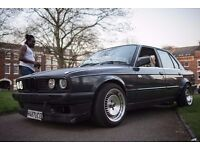 1.6 converted to a 2.5 Classic E30
